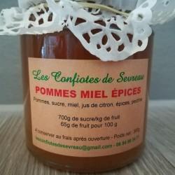 Confiture de pommes miel et...