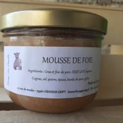 Mousse de foie de porc - 350 g