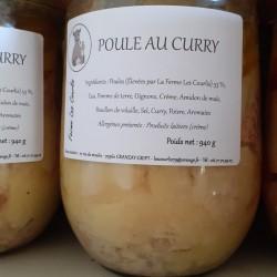 Poule au Curry
