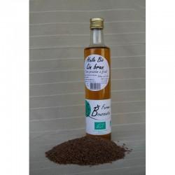 Huile de lin brun BIO - 0,5 L